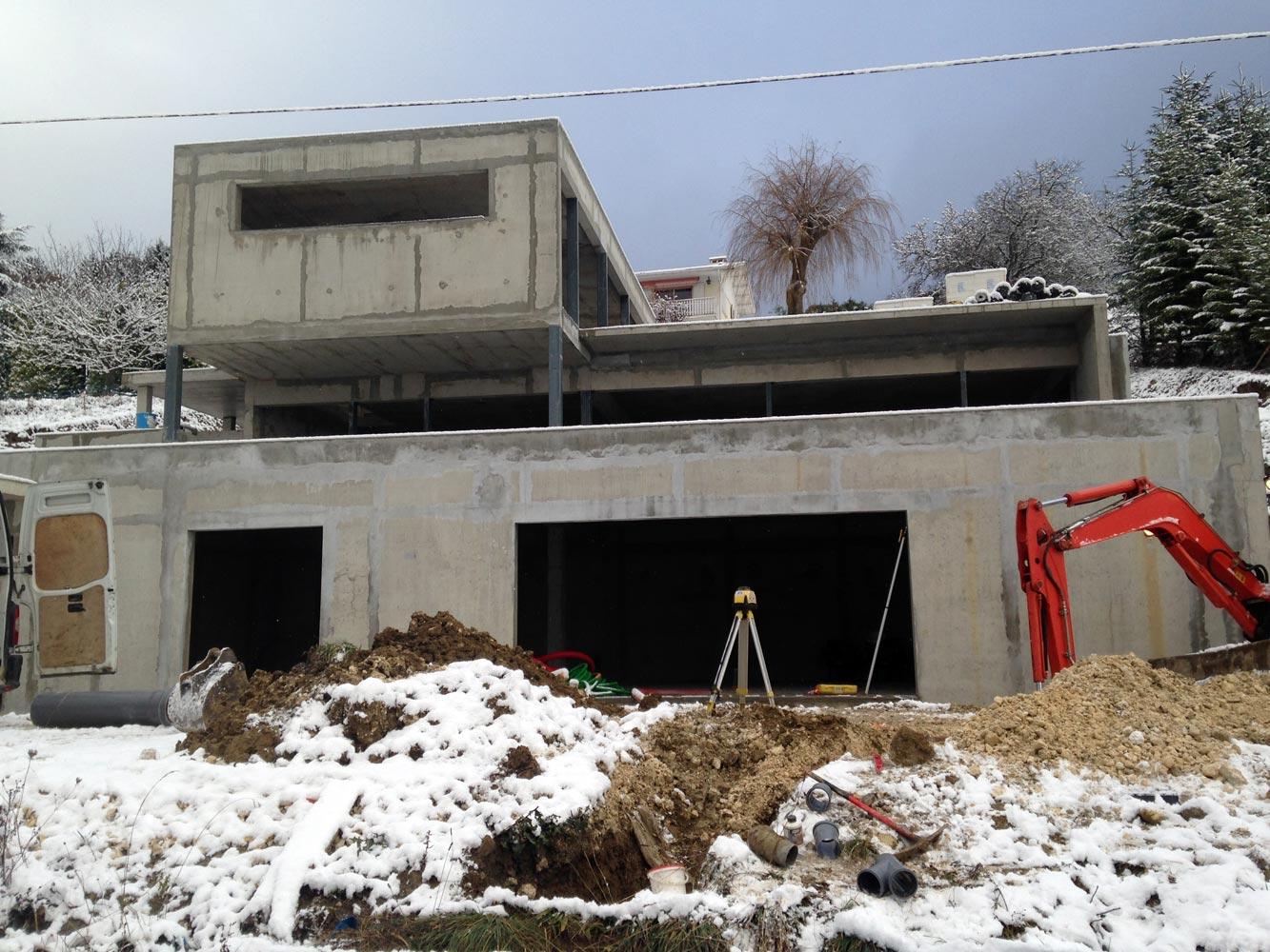 Célèbre Garin Bâtiment Bonne Haute Savoie 74 Maçonnerie de rénovation  SN85